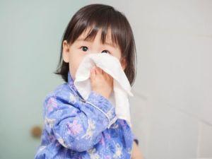 cách trị sổ mũi cho trẻ em