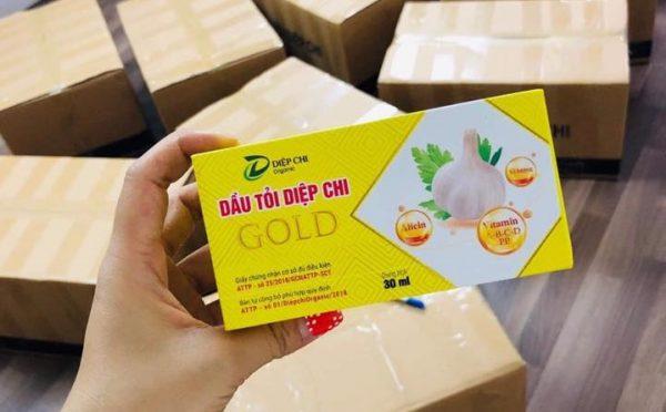 Dầu tỏi Diệp Chi Gold mang đến nhiều lợi ích cho sức khỏe
